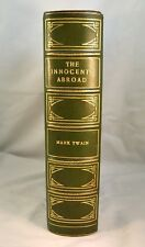 THE INNOCENTS ABROAD or The New Pilgrims' Progress by Mark Twain 1869 1st Ed.
