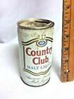 Country club malt liquor beer can pull tab San Antonio TX Pearl brew 12 oz BF6