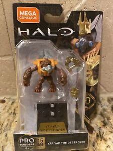 MEGA Construx Halo Series 10 Yap Yap the Destroyer 15pc Figure GFT42 Loose