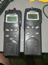 2 Harris p7200 Portable Radios P25 conv 700/800Mhz macom M/a-com.