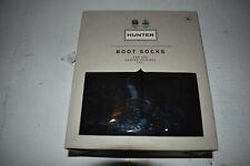 Hunter Tall Boot Sock polyfleece Calcetines Unisex M (negro)