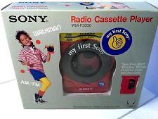 my first Sony Walkman WM-F3030 Cassette Player FM/AM Radio in Original Box