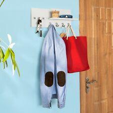 SoBuy® Penderie Porte-manteaux mural, étagère,1 tablettes+7 crochets,FRG54-W FR