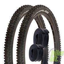 """2x Schwalbe Nobby Nic Fahrrad Reifen 26"""" 26 x 2,25 57-559 + 2x Schlauch SV 13"""