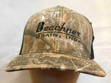 BEACHNER GRAIN Ranch Realtree Embroidered Camouflage Cap Trucker Farm Hat NWT