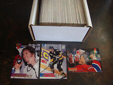1994-95 Stadium Club Hockey---Complete Set---1-270---Gretzky, Lemieux, Roy--NrMt