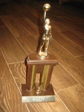 """Jeff City Park Board Means League 2A Div 1st Place Trophy good decor 22"""" tall"""