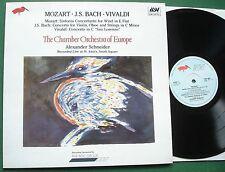 Mozart Bach Vivaldi Concertos Chamber Orchestra of Europe Schneider COE 803 LP