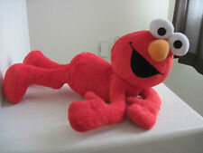 "22"" Big Fisher-Price Sesame Street ELMO LAYING DOWN Plush Stuffed Animal"