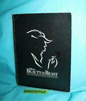 Walt Disney Beauty And The Beast The International Sensation Souvenir Brochure
