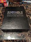 Babylon 5 Encyclopedia Signature Edition signed by J. Michael Straczynski Mint