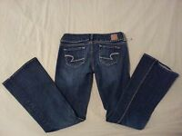Womens American Eagle Outfitters Artist Jeans 0 Denim Pants