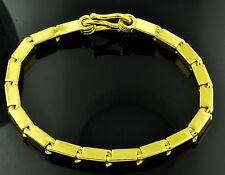 9999 24K Baht Box Bracelet 45.00 Grams Handmade in USA Bullion 8 inches yellow