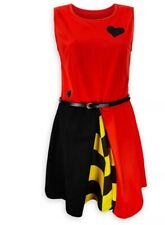 Disney Parks Queen Of Hearts Dress Ladies Size Small New NWT