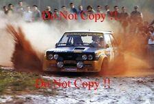 MARKKU ALEN FIAT 131 ABARTH Vincitore Rally Portogallo fotografia 1977