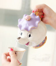 Cartoon Beauty And The Beast Teapot Tea Set Mrs Potts Chip Cup Set Lovely Gift