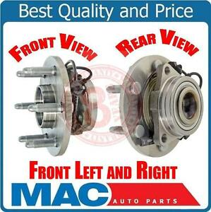 07-2011 Chevrolet GMC 4x4 4 Wheel Drive (2) Front 515096 Axle Hub Assembly
