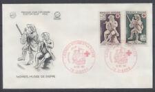 FRANCE FDC - 1540-41 2 CROIX ROUGE - DIEPPE 16 Décembre 1967 - LUXE