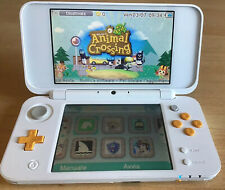 NEW Nintendo 2DS XL white + SD 32GB + Luma3DS (bianco)