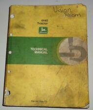 John Deere 4440 Tractor Repair & Operation/Tests Technical Service Manual OEM!
