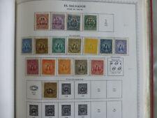Salvador 1895-6 set  M