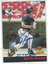 1994 Signature Rookies Top Prospect Autograph Bryn Kosco High Desert Mavericks