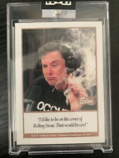 2021 G.A.S. Elon Musk Rookie Card - Factory Sealed - Rare