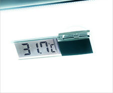 Car Auto LCD Digital Clock Thermometer Temperature Voltage Meter Monitor H AUO