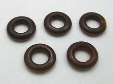 100 Brown Round Ring Wood Beads 20mm Wooden Ring Beads Jewelry Making