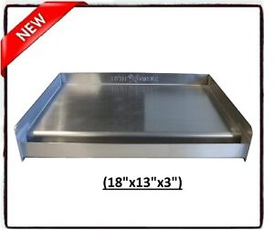 Flat Top Griddle Stainless Steel Gas Grill Breakfast Maker Outdoor Cooking BBQ