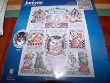 "Janlynn CATS CATS CATS  Counted Cross Stitch Kit 11"" x 14"""