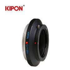 Kipon Adapter For Contax/Yashica CY Lens to Fuji Fujifilm G-Mount GFX 50S Camera
