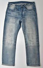 G-Star Raw US Lumber 25 Straight 25yr Worn RL Denim Jeans W36 L32 NEW