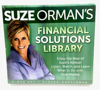 NEW Suze Orman Financial Solutions Library 9 DVD Set Factory Sealed