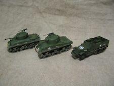 ITALERI ESCI TRUMPETER DRAGON Sherman M4A1 M4A3 Halftrack 1/72 tanks WWII