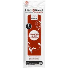 "Thermoweb 3502 Heat'n Bond Ultra Hold Iron On Adhesive 17""X36"" NEW"