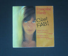 """FRANCOISE HARDY - 7""""Single 'C'EST FAB!'    4 Track EP,  L'amour S'en Va +3"""