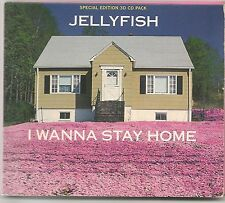 JELLYFISH I WANNA STAY HOME + 2 LIVE TRACKS SPECIAL EDITION 3D CD PACK 1991