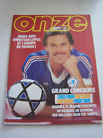 MAGAZINE FOOTBALL ONZE N° 76 EN TRES BON ETAT . VOIR DESCRIPTIF .