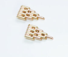 Vintage Tiffany & Co. Yellow Gold Clips