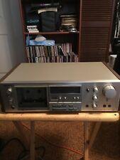 Vintage 1980 Sony TC-K61 Dolby Stereo Cassette Deck