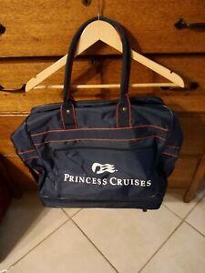 Vintage Princess Cruises 1980's Expandable Luggage Bag Excellent condition mint