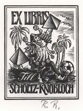 Ex Libris Rudolf Riesz: Scholtz-Knobloch