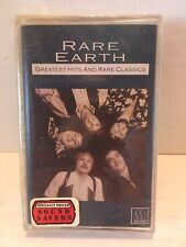 """New Sealed Rare Earth """"Greatest Hits and Rare Classics"""" Cassette Tape"""