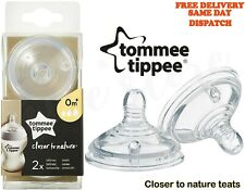 Tommee Tippee Closer to Nature Variflow Flow Teats x 2