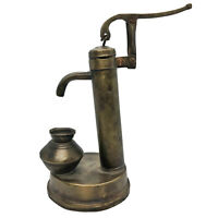 Antique Indian Brass Child's Toy Water Pump Model - Ca. 1750-1920 - Old Asian