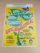 More details for basil brush jack tripp richard murdoch mark wynter plymouth pantomime flyer 1991
