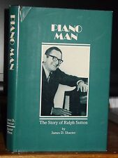 Piano Man: The Story of Ralph Sutton, Signed Jazz Pianist, WGJ Fats Waller HC-DJ