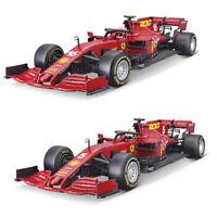 Bburago 1/18 Ferrari 1000th F1000 2020 F1 Tuscany car model S.Vettel C.Leclerc
