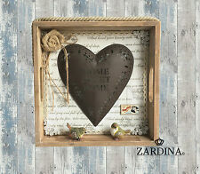 Heart - Home Sweet Home Wall Hanging Art Decor Sculpture (Free Postage)